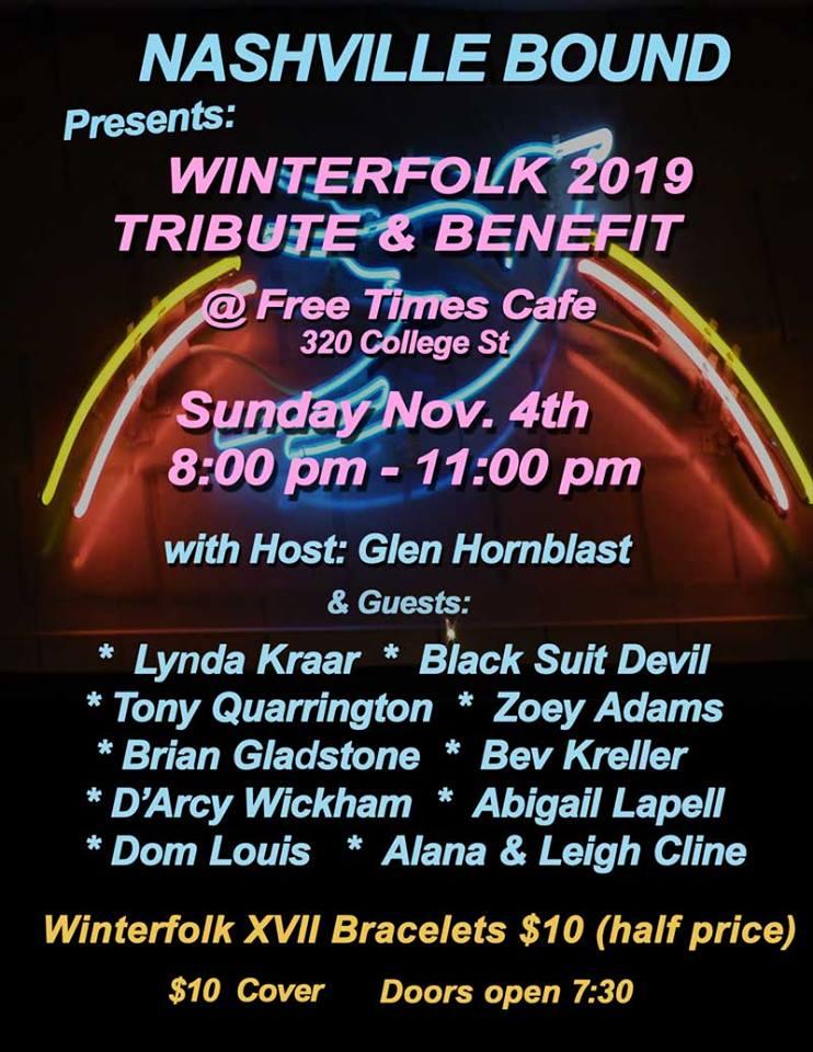 Winterfolk XVII Preview Nov 4