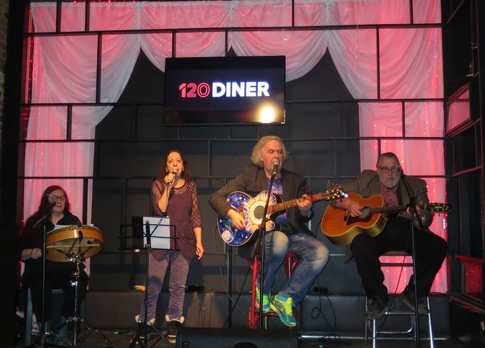 Brian Gladstone Band does the 120 Diner